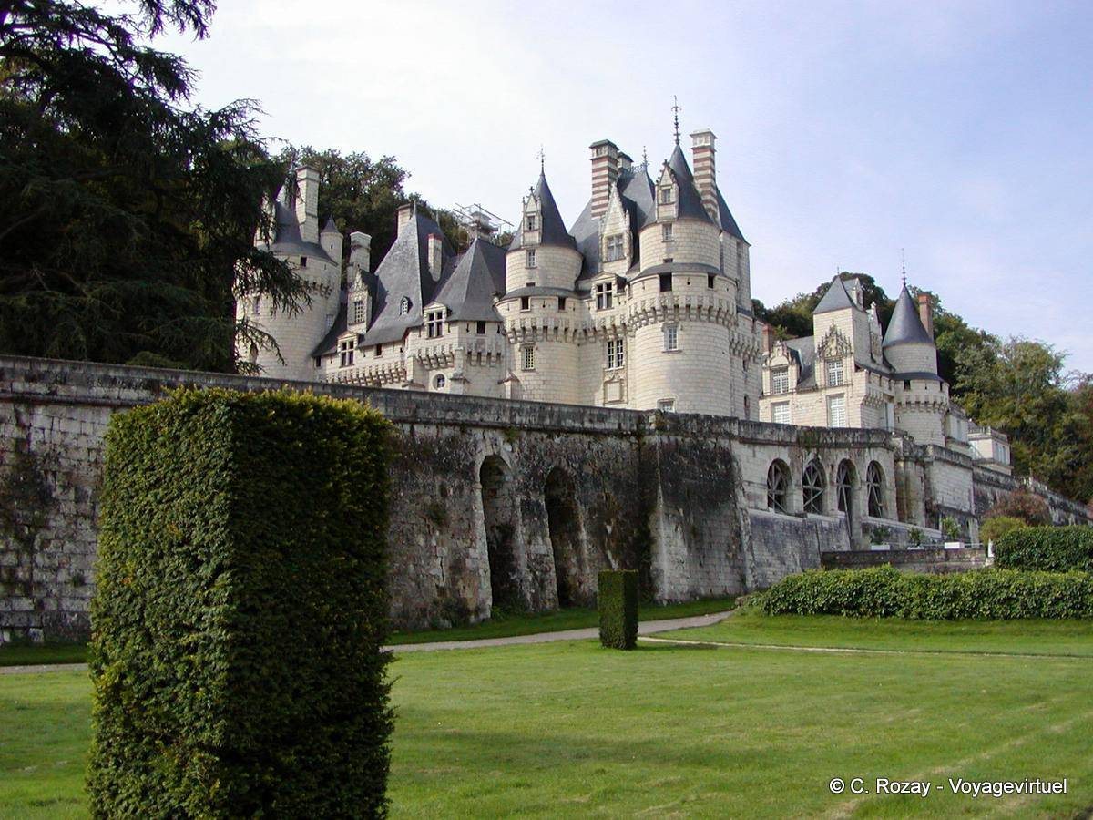 Giardini terrazzati di Le Nôtre Château d\'Ussé.