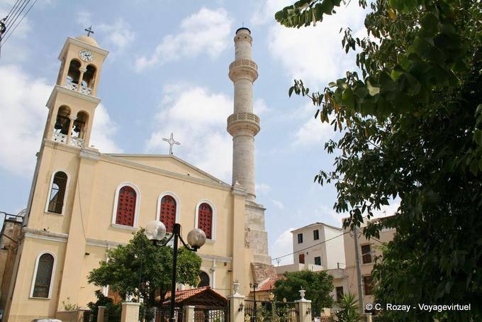 La chiesa di Agios Nikolaos Splantzi, Chania - Creta, Grecia