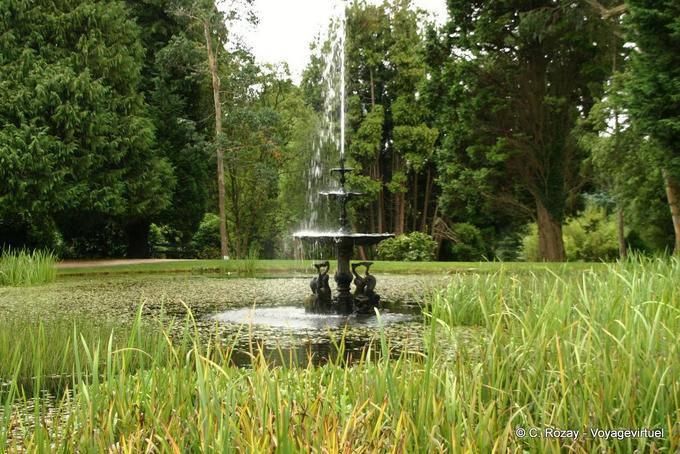 Jardin de Powerscourt, Irlande 5704