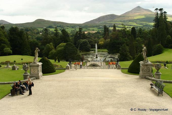 Jardin de Powerscourt, Irlande 5789