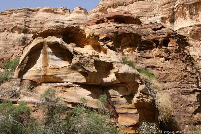 Pétra Wadi el Mudhlim 193