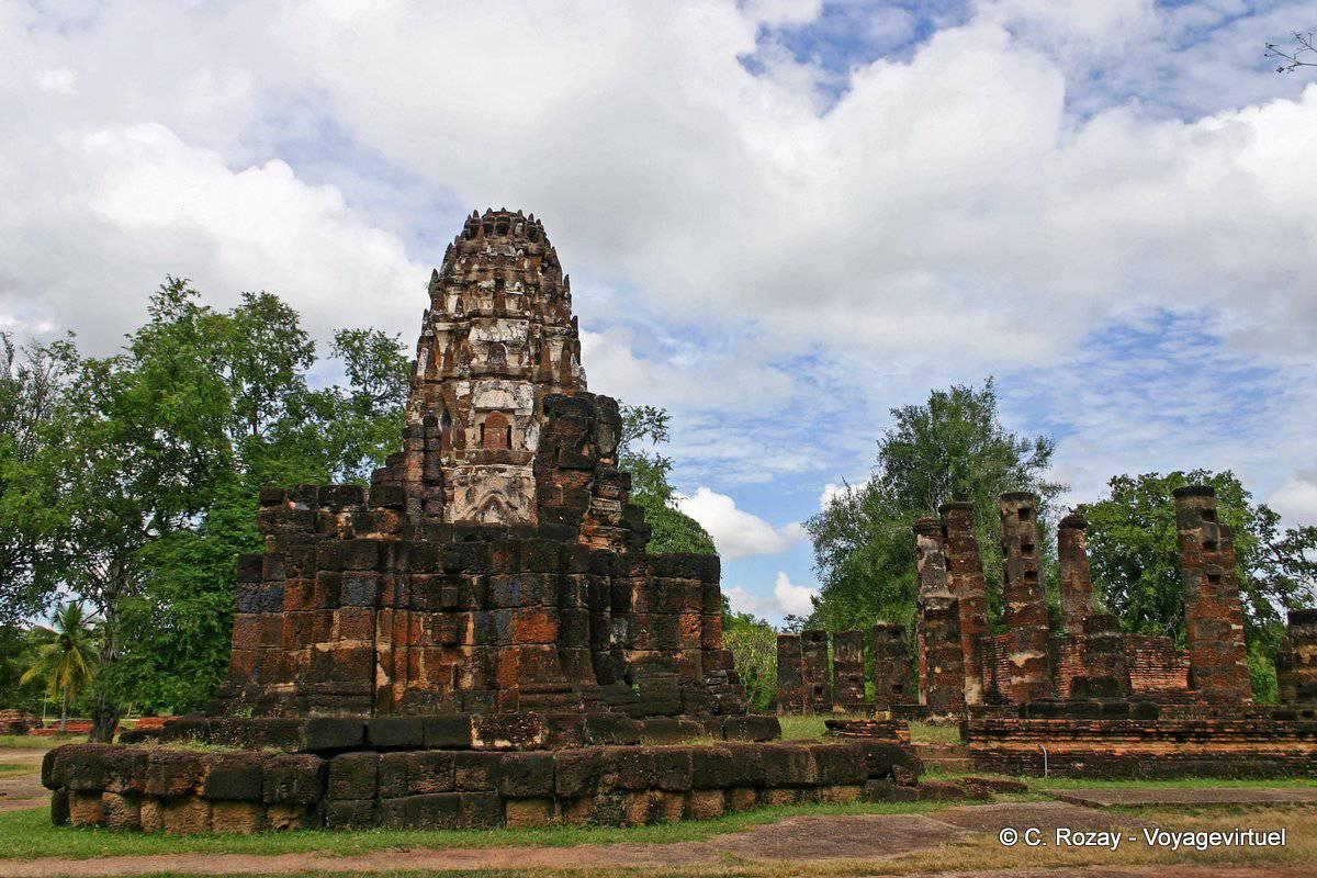 Rovine di Sukhothai, Wat Phra Pai Luang - La Tailandia