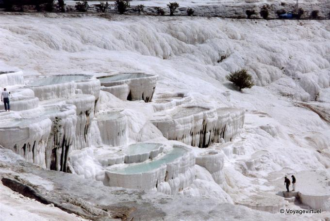 Pamukkale Thermal Pools, Turchia