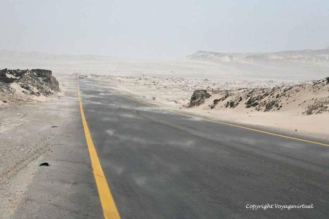 Road Mukalla Bir Ali 2620
